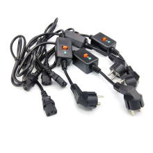 power cords with molded plug