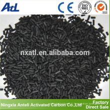 Fabrication de charbon actif granulaire pour la purification de l'air