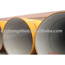 3PE steel pipe/q235a/q235b erw 3PE steel tube Manufacturer