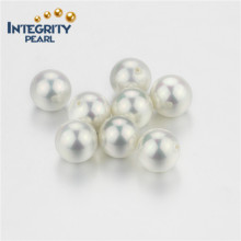 Большой размер Дешевые белые идеальные круглые 14мм Shell Pearl Beads