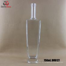 750ml Extral Flint botellas de vidrio para el licor de primera calidad