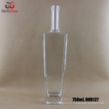 Bouteilles de verre 750ml Extral Flint pour Premium Liquor