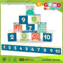 Завод прямой продажи деревянные строительные блоки детские игрушки деревянные блоки для ремесел