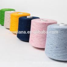Novo design de caxemira colorido fio de pontos
