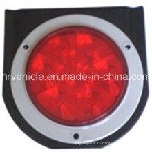 4-дюймовый светодиодный задний фонарь со стальной накладкой