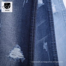 Chaqueta recta de tela de jeans de mezclilla para jeans