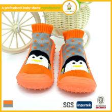 2015 vente chaude belle imprimé animal gros bébé chaussettes chaussettes chaussures