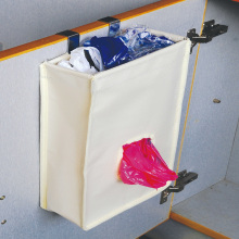 over cabinet bag holder