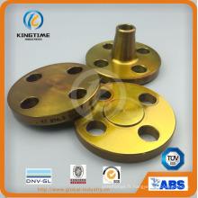 Bride forgée en acier au carbone flange A105n bride forgée avec Ce (KT0408)