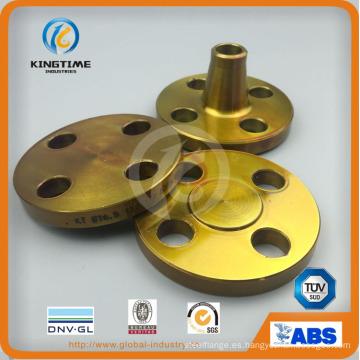 Brida ciega de acero de carbono con reborde forjado A105n con Ce (KT0408)