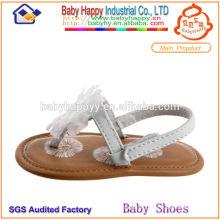 Мода плоские летние сандалии детская обувь