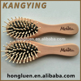 Non Toxic Practical And Characteristic Wooden Custom Hair Brush