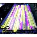 360 degrés angles inclinés 5050 RGB 64PCS LED 16 pixels 48 DMX Ch LED Tube Lumière