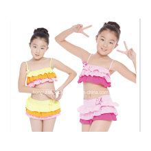 Two Piece Cute Flittle Girls Fashion Swimwear