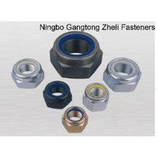 Porca de bloqueio de nylon DIN985 para a indústria