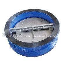 Válvula de Retenção de Dupla Flap de Ferro Fundido