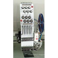 Machine de broderie de lame de tête de tête de 20 chefs 6 couleurs