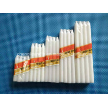 Variety of Size White Candles