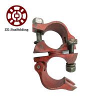 Galvanized steel scaffold pipe clamp