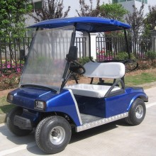 China for 2 Seaters Golf Carts CE approved  2 seat battery powered mini electric golf cart export to Aruba Manufacturers