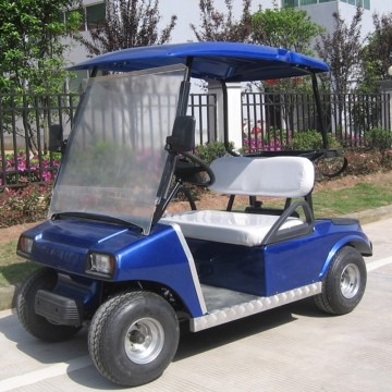 CE approved  2 seat battery powered mini electric golf cart