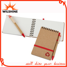 Mini A6 A7 Spiral Notebook with Pen for Custom Printing (PNB046)
