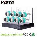 8CH NVR Wifi CCTV Night Vision IP telecamera h. 264 NVR Kit