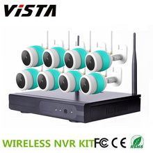 8CH NVR Wifi CCTV Night Vision IP caméra H.264 NVR Kit