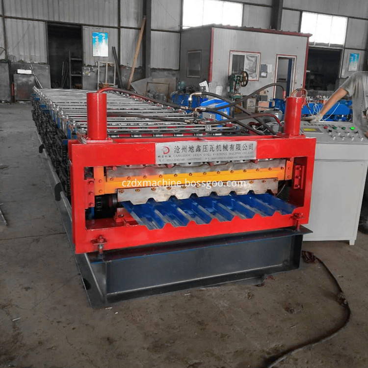 Double Layer Roofing Tile Forming Machine