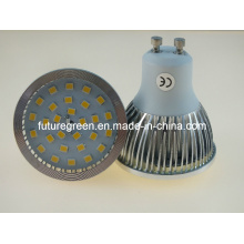 Светодиодная лампа GU10 5W 28PC 2835SMD 470лм (GU10AL-28S2835)