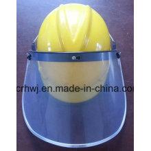 Защитный шлем с защитным шлемом