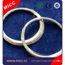MICC 2015 novo fio desencapado de liga