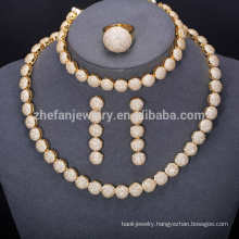 luxury austrian gold coin indian bridal jewelry sets wholesale China