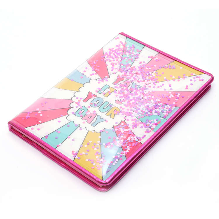 Pvc Liquid Cover Notebook 1