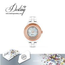 Destin bijoux cristal de Swarovski Hip Watch