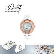 Destiny Jewellery Crystal From Swarovski Hip Watch