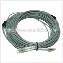 Armored cable / Fiber Patch Cord LC to LC MM 50/125 duplex 3.0mm optical patch cord
