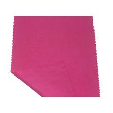 Tecido tencel de sarja vermelha à prova d'água para jaqueta feminina