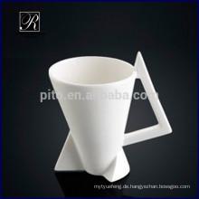 Neues Design Procelain Becher Procelain Eis Sahne Tasse Dessert Tasse Cafeteria Hotel verwenden