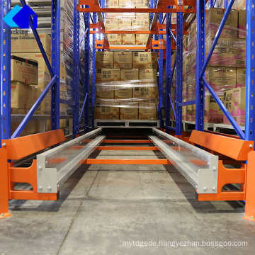 Cold Store Warehouse Rack Shelving Radio Shuttle Rack