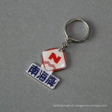 Keychain organisationnel avec nickelage, accessoires clés (GZHY-KC-008)