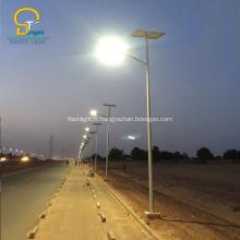 Éclairage extérieur solaire de la rue LED de conservation de l'énergie