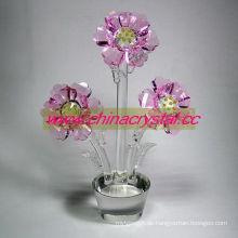 Kristall Blumenhaus oder Hochzeitsdekoration (DW-017)