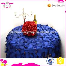 Paño de mesa de rosetón para la boda