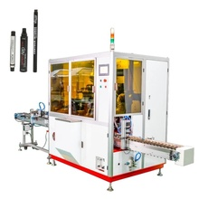 2 color automatic eyebrow pencil screen printing machine