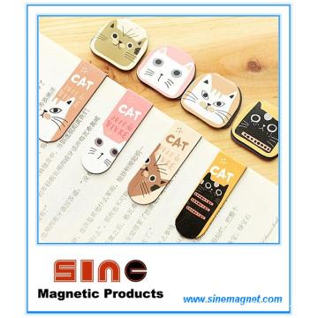 Cute Cartoon Magnetic Bookmark/Creative Gifts