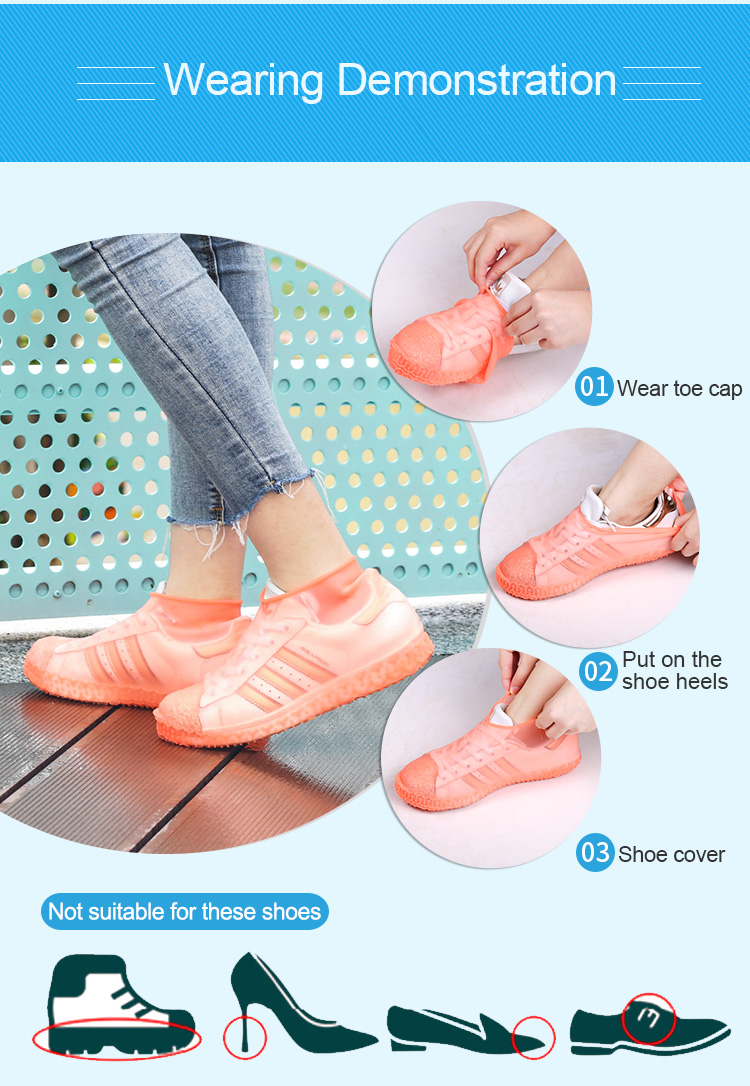 Shoe Covers Water Proof Reusable