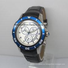 Reloj de lujo para hombre Reloj de acero inoxidable con movimiento automático de Japón