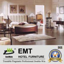 Wooden Hotel Bedroom Furniture / Bedroom Furniture Set (EMT-A0901)