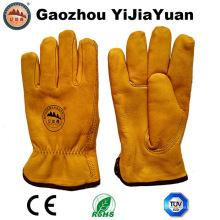 Sicherheit Leder Winter Fahrer Handschuhe für das Fahren